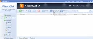 flashget-300x127 Szybsze pobieranie plików z internetu. Jak przyśpieszyć ściąganie plików.
