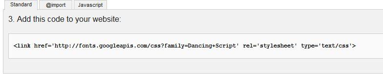 dodanie-kodu-google-fonts Darmowe czcionki na stronę internetową. Bezpłatne fonty od Google.