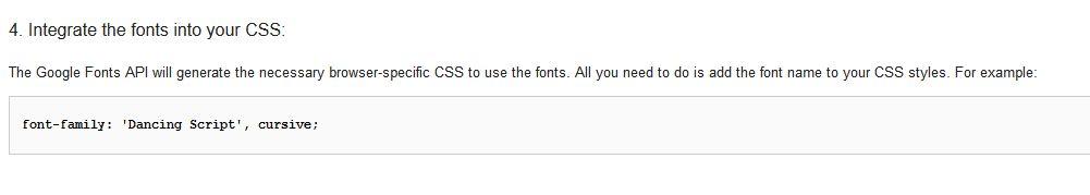 google-font-szybkie-uzycie Darmowe czcionki na stronę internetową. Bezpłatne fonty od Google.