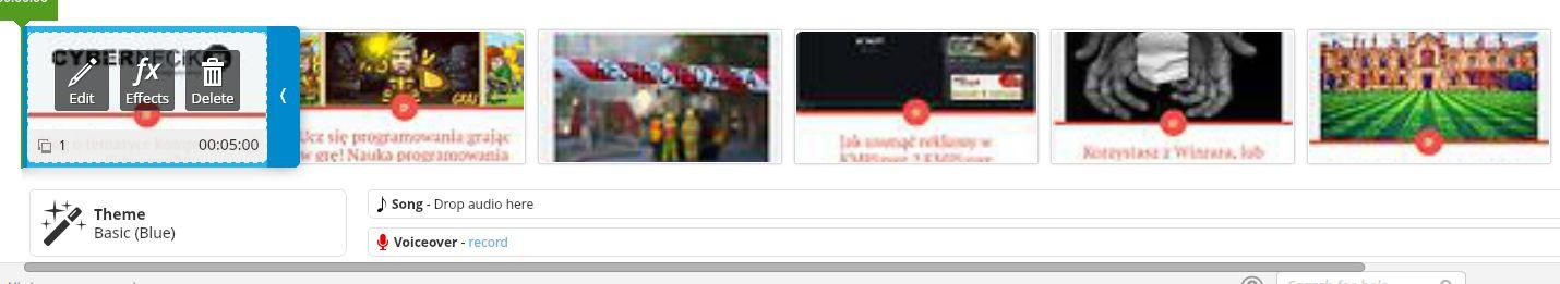 os-czasu Edycja wideo w internecie. Tworzymy wideo online.