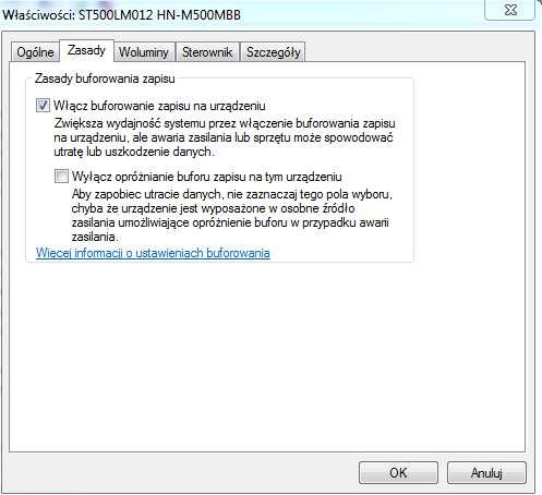 buforowanie-dysku-twardego Sześć sposobów na przyspieszenie Windows 7. Poprawiamy wydajność Siódemki za darmo.