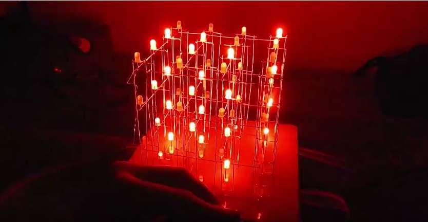 budowa-kostki-led Budujemy migającą kostkę LED. Jak zbudować Led Cube?