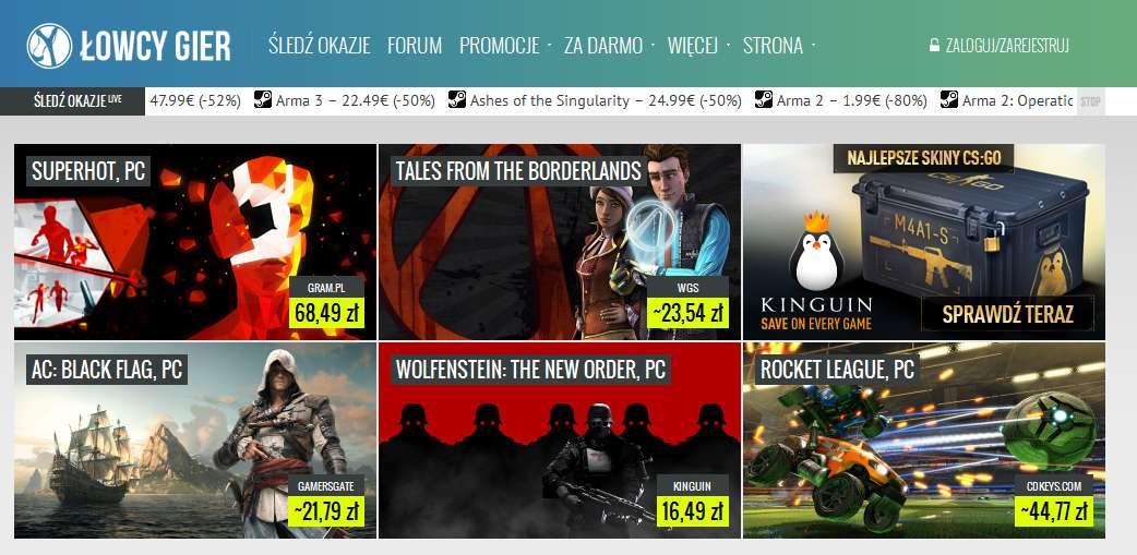104 Kupujemy tanie gry w internecie, czyli jak znaleźć grę z najniższą ceną.