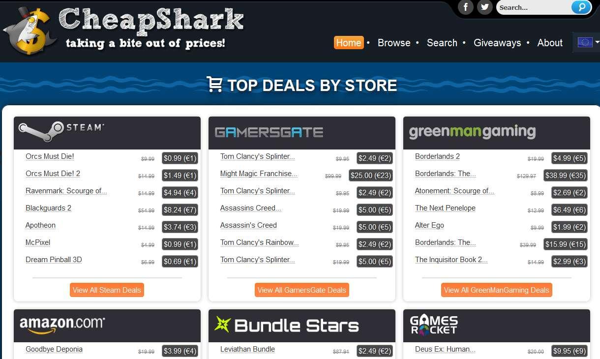 tanie-gry-komputerowe Kupujemy tanie gry w internecie, czyli jak znaleźć grę z najniższą ceną.