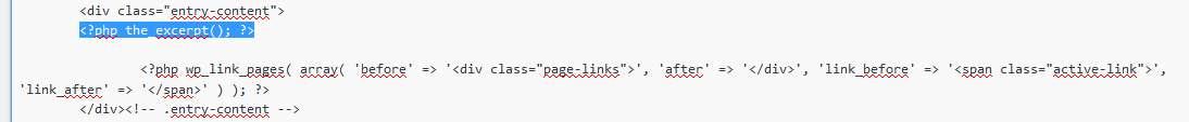 122 Niepełne wpisy na stronie głównej Wordpress. Dodajemy wypisy na blogu.