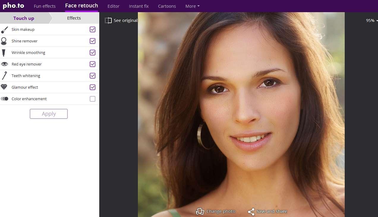 140 Retusz zdjęć w internecie. Aplikacja do retuszu twarzy online.
