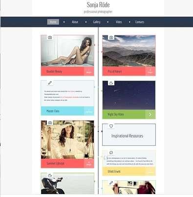 153 Darmowe szablony na stronę internetową, portfolio, bloga.