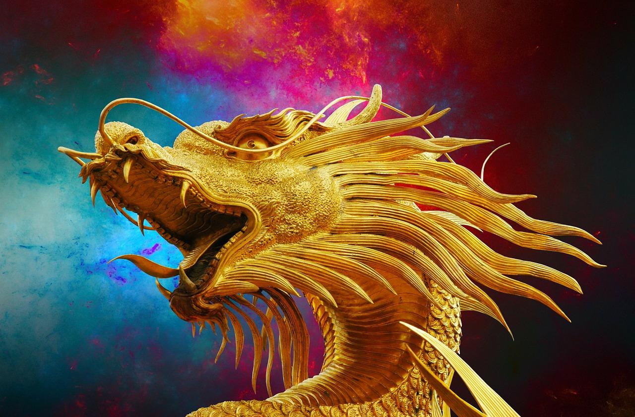 dragon-238931_1280 Automatyczne kolorowanie czarno-białych zdjęć.
