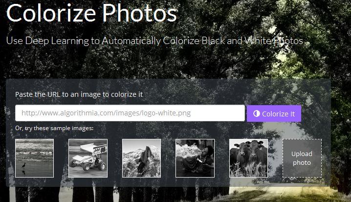 kolorowanie-zdjec-online Automatyczne kolorowanie czarno-białych zdjęć.