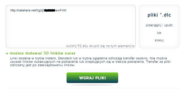pobieranie-plikow-z-hostingow-premium Wygodne pobieranie plików z internetu. Serwisy z kontami premium część 1.